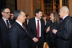 Áder János; Herczegh Anita; Orbán Viktor; Stoiber, Edmund; Káel Csaba