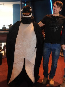 A Pingvinkirály 3D címû film díszbemutatója