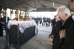 Izsáki kényszervallatás - Bara József temetése