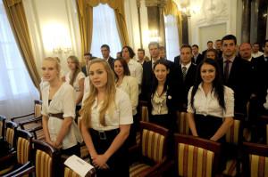 Letették az esküt 27. Nyári Universiadé magyar versenyzõi