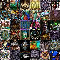 Üvegmozaik csempe