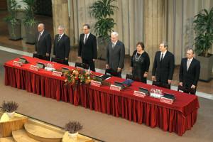 Németh Tamás; Csépe Valéria; Pálinkás József; Porga Gyula; Friedler Ferenc; Navracsics Tibor