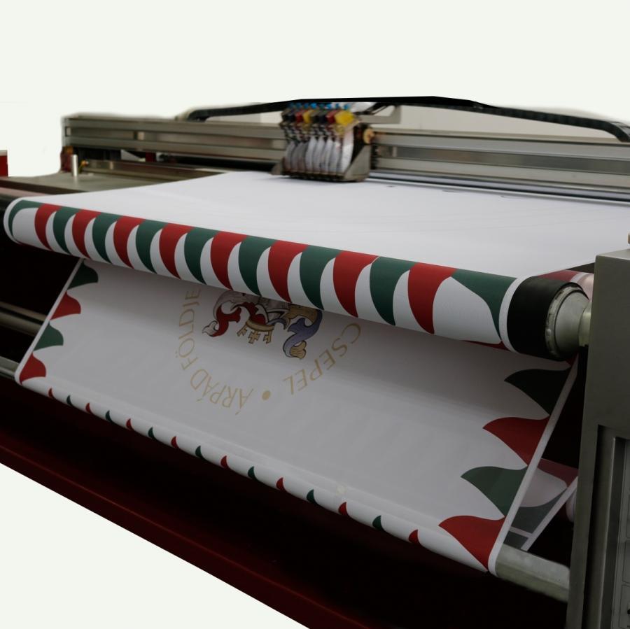 Textil nyomtatás, roll-up készítés